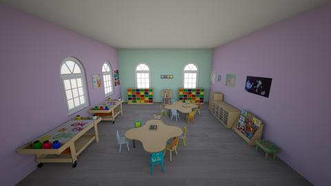 Kids party room - Kids room - by Tinay2424