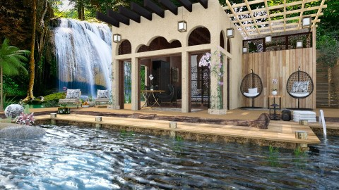 Thai Vacation Hut - Global - Garden - by evahassing