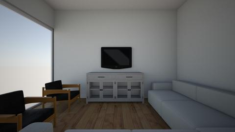 1 Big sofa Guest House - Living room  - by gleidy