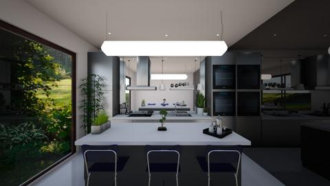 Scandinavian Kitchen  - Minimal - Kitchen  - by georgie_henry