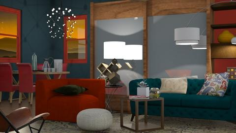 Almost Retro - Eclectic - Living room - by Gurns