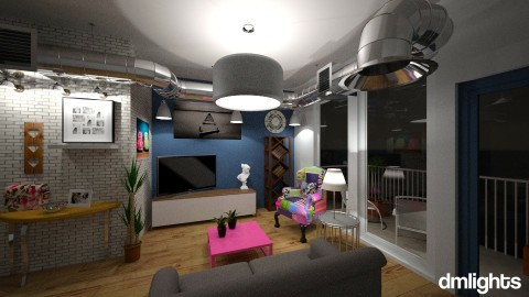 City Apartment - Classic - Living room - by DMLights-user-1383470