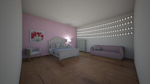Glam Teenage Bedroom - Glamour - Bedroom  - by BaylorBear
