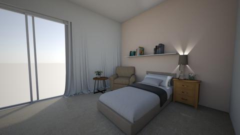 Domestic elder care room  - Bedroom  - by Mila dimitrova