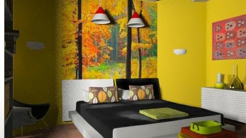 bedroom 2  - Eclectic - Bedroom  - by july1526