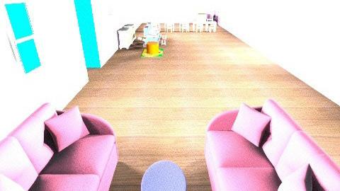 Ultimate Playroom - Retro - Kids room  - by Cara Cecilia