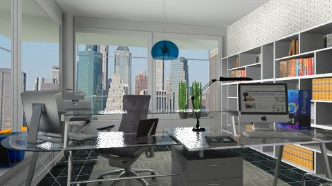 Modern office - Modern - Office  - by milyca8