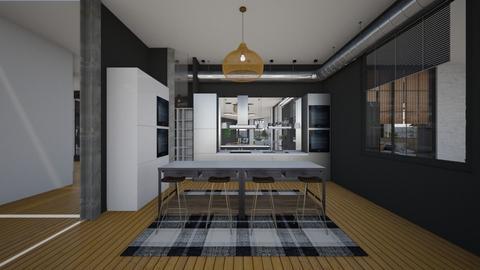 SoftLoft_Kitchen - Kitchen  - by lovasemoke