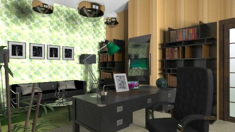 Office Space - Modern - Office - by chloedaniella