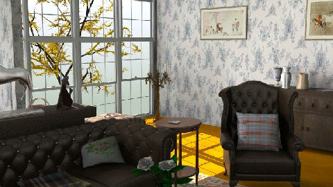 country - Country - Living room  - by candyce