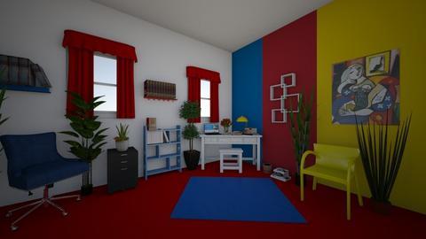 Bauhaus - Eclectic - Office  - by Irishrose58