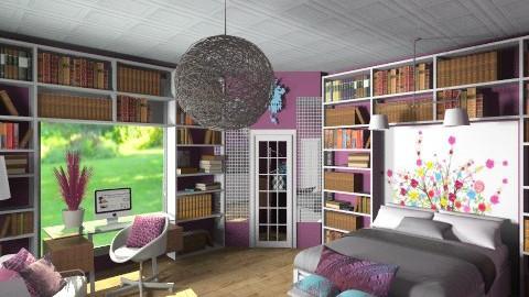 teen bedroom1129 - Bedroom  - by beanloser622