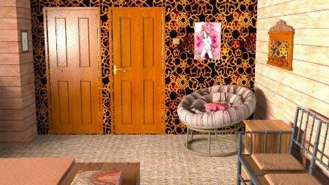 Rusty 3 - Rustic - Bedroom  - by Berringer