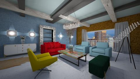 Rxxx - Modern - Living room - by Saj Trinaest