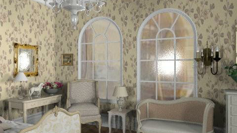 french bedroom - Classic - Bedroom  - by Dadaist