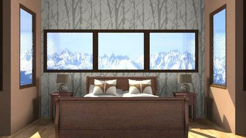 Colorado Bedroom - Rustic - Bedroom  - by obiobi9