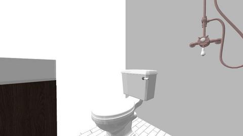 TENJO Kamar mandi pindh - Living room  - by tvirandie