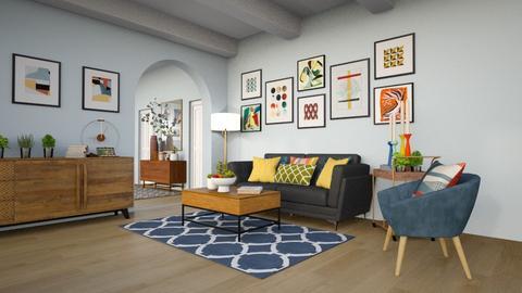 Retro - Retro - Living room  - by sara1010