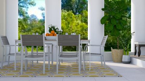Terrace Dining - Modern - Dining room - by stephendesign