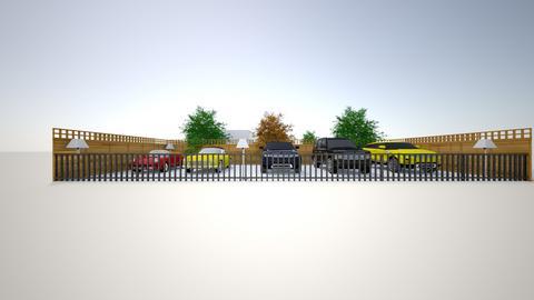 Open garage_cars 2 - by saratevdoska