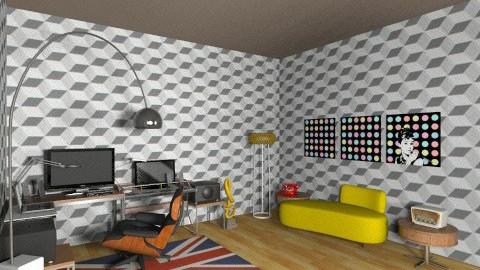 studio dj room00 - Eclectic - Office - by deedy saleh