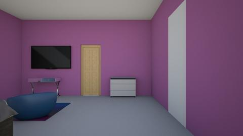 2A Aniyah Allen - Bedroom  - by shayden