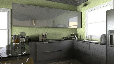 Bungalow Kitchen  - Country - Kitchen  - by thekidd