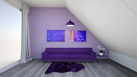 simple series purple  - Feminine - Living room  - by martinini