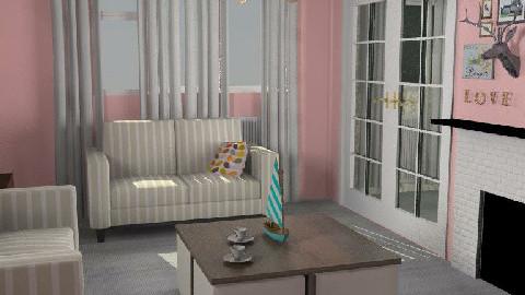 T19 - Mauve Oleander - Living room - by gingerpantz