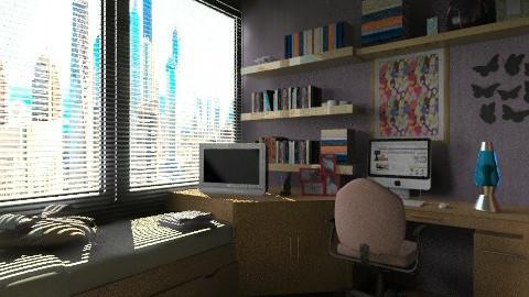 apt sp bedroom 1 - Classic - Bedroom  - by Maria_Julia