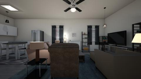 Loft Apartment - Living room  - by mspence03