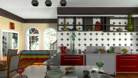 Kitchen - Eclectic - Kitchen  - by sasalex88