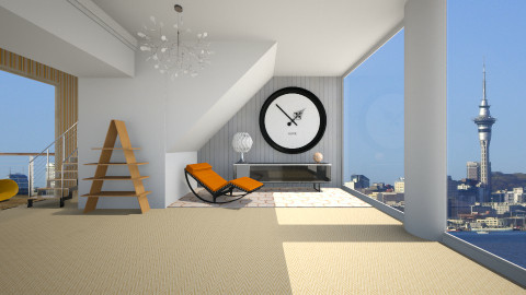 Unwind - Minimal - Living room  - by Nicky West