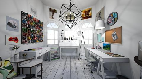 MyDreamLilArtGalleryShed - Minimal - Office  - by jade1111