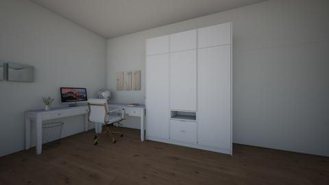 Layout Dormitorio - Classic - Bedroom  - by perguita
