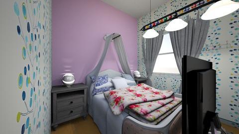 Habitacion Ruby - Vintage - Bedroom  - by anaiss