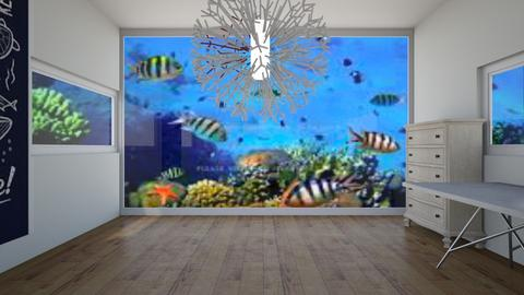 Ocean Lovers room - Bedroom  - by LilLil