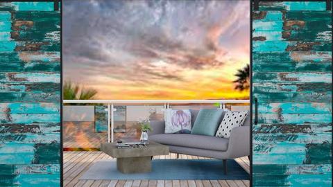 balcony roof - Modern - Garden  - by aschaper