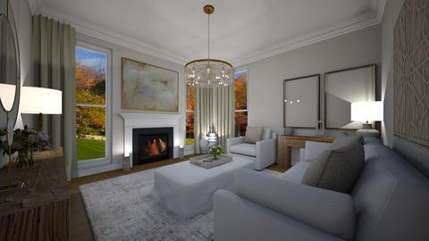 Cream Country Livingroom - by kimrmcf
