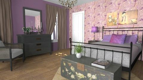 For Kristyn/Bellanegra23 - Eclectic - Bedroom - by Theadora