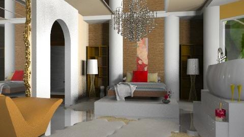 Lottery win.. - Glamour - Bedroom - by mrschicken