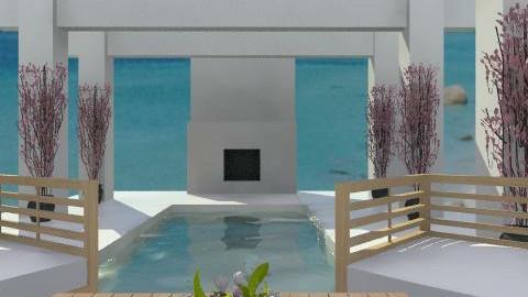 Concrete garden - Modern - Garden  - by hunny