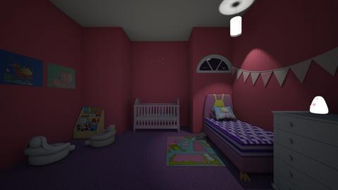 Little Sisters - Feminine - Kids room  - by srmagi