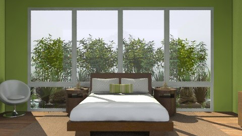 Green Zen - Global - Bedroom - by shotzydog