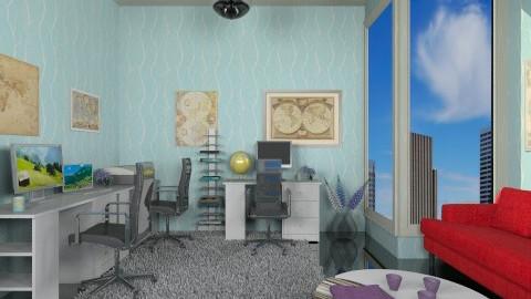 ModernStudy - Modern - Office  - by Luisy