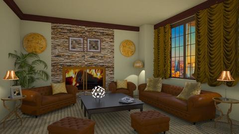 Victor Tellegio - Retro - Living room  - by deleted_1524667005_Elena68