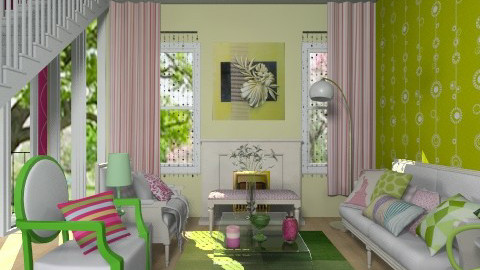 Fresh - Eclectic - Living room  - by Laurika