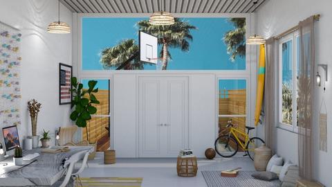 casa de solteito  - Living room - by diegobbf