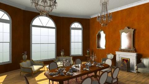 Georgian room II - Classic - by maribeiro