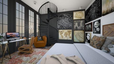 sd - Bedroom  - by kazkasia32